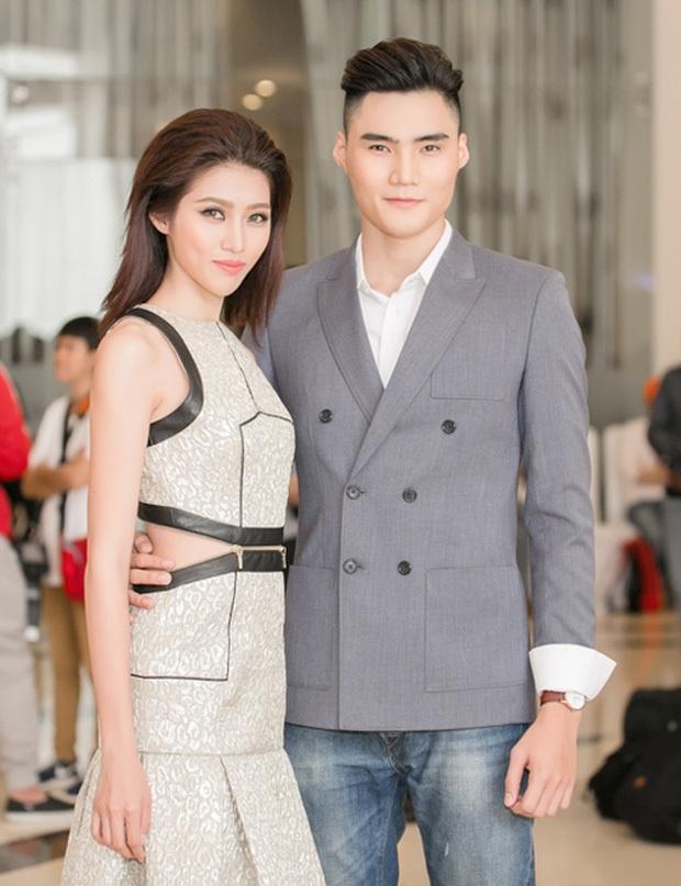 Quang Hùng khích lệ tình cũ Quỳnh Châu giành chiến thắng tại Hoa hậu Hoàn vũ Việt Nam 2017 - Ảnh 2.