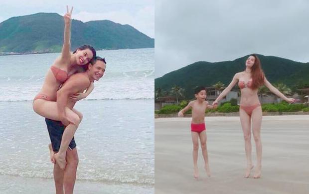 Clip: Hà Hồ lại bị bắt gặp thân mật cùng Kim Lý, lần này có cả mẹ và con trai Subeo - Ảnh 2.