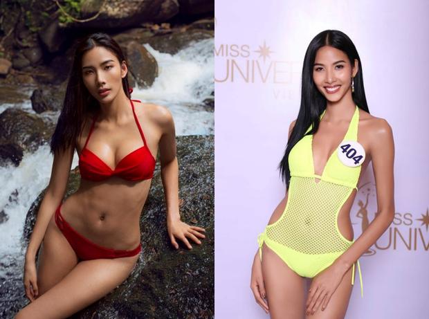 Chẳng biết vì sao mà cứ đi thi Hoa hậu Hoàn vũ là thân hình sao Việt này bỗng dưng trở nên khác hình bình thường? - Ảnh 1.
