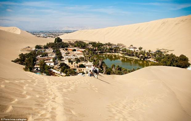 Không ai ngờ rằng, giữa sa mạc cằn cỗi bậc nhất thế giới lại có một thị trấn xanh tươi đến vậy - Ảnh 2.
