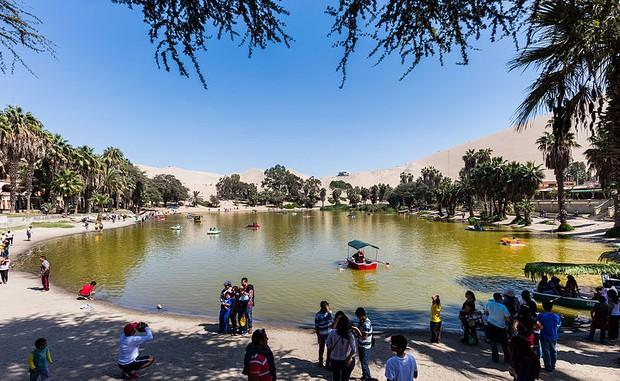Không ai ngờ rằng, giữa sa mạc cằn cỗi bậc nhất thế giới lại có một thị trấn xanh tươi đến vậy - Ảnh 6.