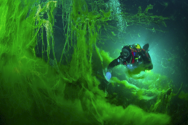 Hồ không đáy Goluboe - bí ẩn chết chóc đáng sợ bậc nhất hành tinh - Ảnh 3.