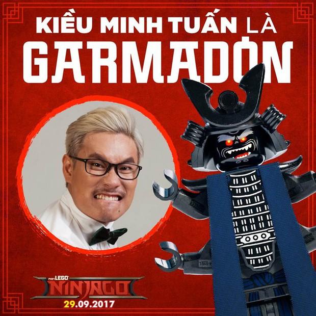 Kiều Minh Tuấn hóa thân thành gã bạo chúa Garmadon trong The Lego Ninjago Movie - Ảnh 2.