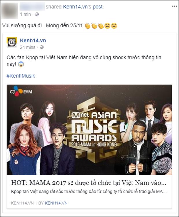 Cộng đồng mạng Việt phát sốt giữa đêm vì tin MAMA 2017 tổ chức ở Việt Nam - Ảnh 3.