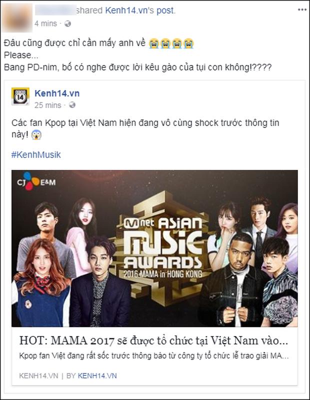 Cộng đồng mạng Việt phát sốt giữa đêm vì tin MAMA 2017 tổ chức ở Việt Nam - Ảnh 4.