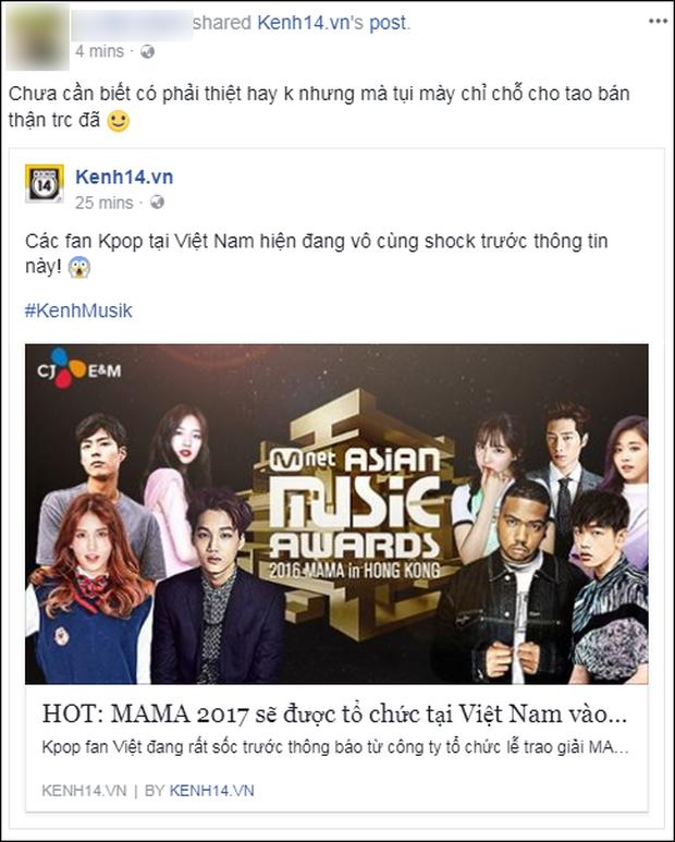Cộng đồng mạng Việt phát sốt giữa đêm vì tin MAMA 2017 tổ chức ở Việt Nam - Ảnh 5.