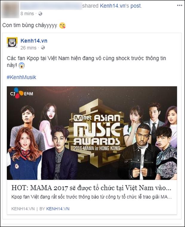 Cộng đồng mạng Việt phát sốt giữa đêm vì tin MAMA 2017 tổ chức ở Việt Nam - Ảnh 7.
