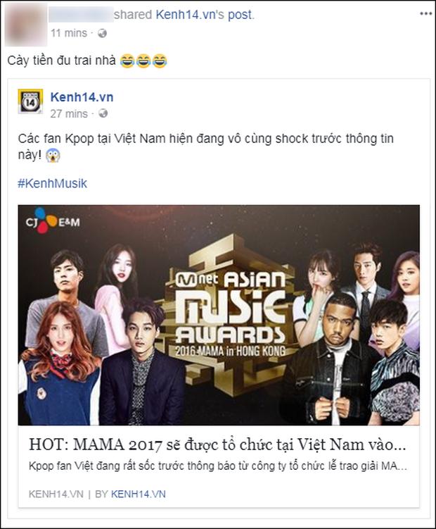 Cộng đồng mạng Việt phát sốt giữa đêm vì tin MAMA 2017 tổ chức ở Việt Nam - Ảnh 8.