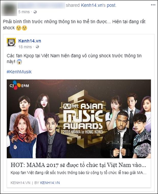 Cộng đồng mạng Việt phát sốt giữa đêm vì tin MAMA 2017 tổ chức ở Việt Nam - Ảnh 11.