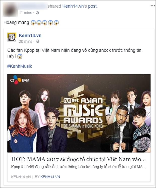 Cộng đồng mạng Việt phát sốt giữa đêm vì tin MAMA 2017 tổ chức ở Việt Nam - Ảnh 12.
