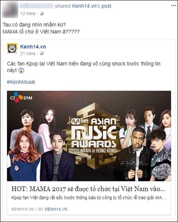 Cộng đồng mạng Việt phát sốt giữa đêm vì tin MAMA 2017 tổ chức ở Việt Nam - Ảnh 13.