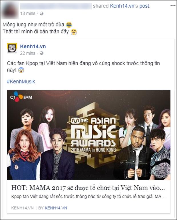 Cộng đồng mạng Việt phát sốt giữa đêm vì tin MAMA 2017 tổ chức ở Việt Nam - Ảnh 15.