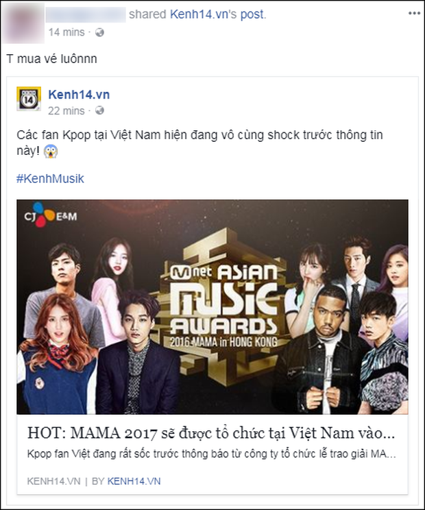 Cộng đồng mạng Việt phát sốt giữa đêm vì tin MAMA 2017 tổ chức ở Việt Nam - Ảnh 16.