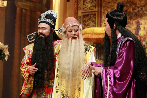 Trúc Nhân lỡ miệng gọi giám khảo Hoài Linh là thằng khi nhập vai Ơn giời - Ảnh 10.