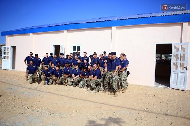 Hải quân Mỹ - Nhật dầm mình trong nắng, góp 1.500 ngày công để xây trường mầm non cho trẻ em Đà Nẵng - Ảnh 21.