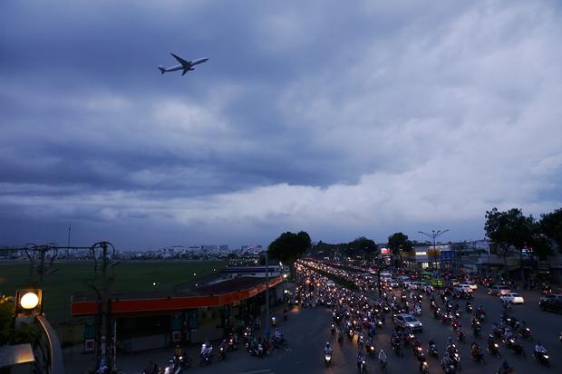 Hàng chục gian hàng gần sân bay Tân Sơn Nhất ồ ạt thanh lý chó, gà, cây cảnh, giao thông Sài Gòn hỗn loạn - Ảnh 15.