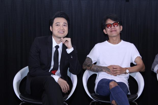 Lý Quí Khánh mang hoa tự cắm đến mừng Quang Vinh ra mắt MV mới - Ảnh 10.