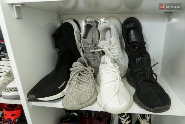 Clip: Đầu giày Minh Tú giải thích vì sao gia cảnh khó khăn mà vẫn bỏ cả ngàn đô mua sneakers - Ảnh 5.