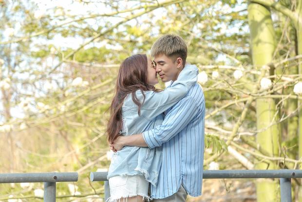 Will - Kaity Nguyễn cứ hở ra là... hôn nhau và ngọt ngào thế này trên phim trường! - Ảnh 9.