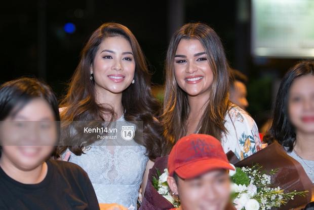 Hai năm gặp lại, Phạm Hương và bạn thân Hoa hậu người Dominica, ai đẹp hơn? - Ảnh 8.
