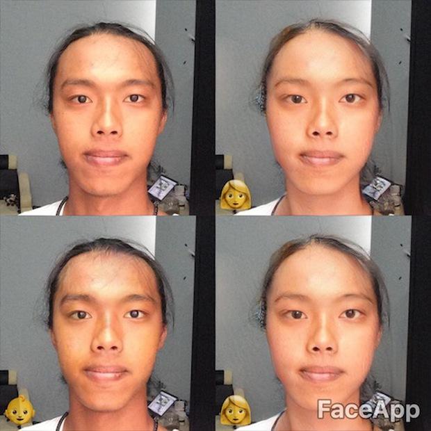 Trào lưu chỉnh ảnh biến đổi giới tính này đang làm giới trẻ Việt phát cuồng mấy ngày qua - Ảnh 10.