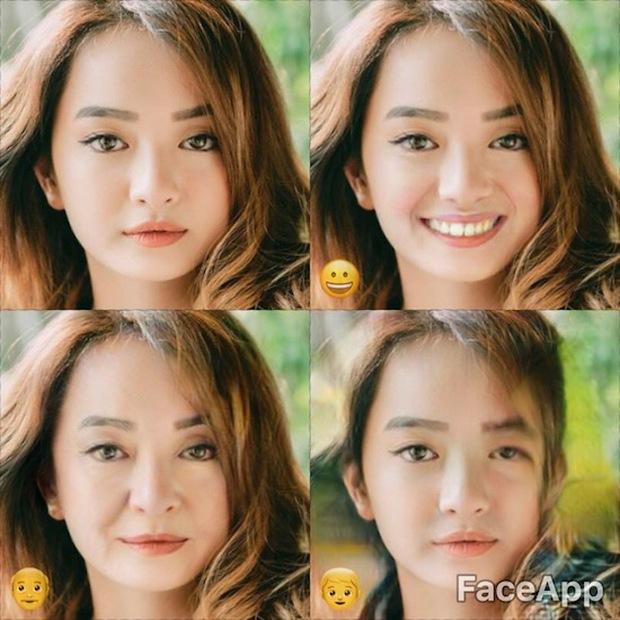 Dùng FaceApp kiểm tra xem sao Việt nào đẹp lão nhất - Ảnh 9.