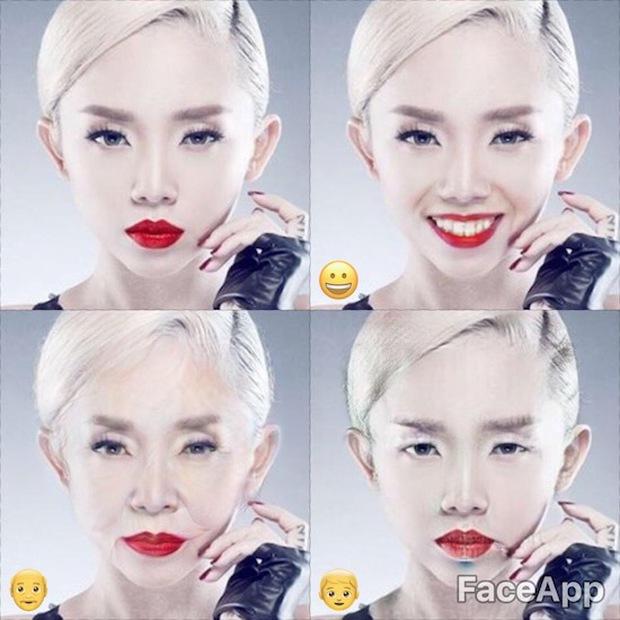 Dùng FaceApp kiểm tra xem sao Việt nào đẹp lão nhất - Ảnh 13.