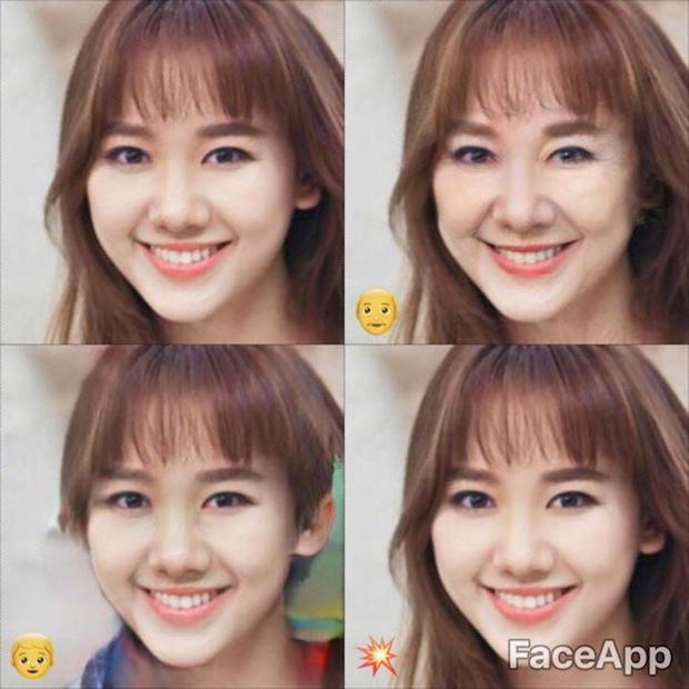 Dùng FaceApp kiểm tra xem sao Việt nào đẹp lão nhất - Ảnh 15.