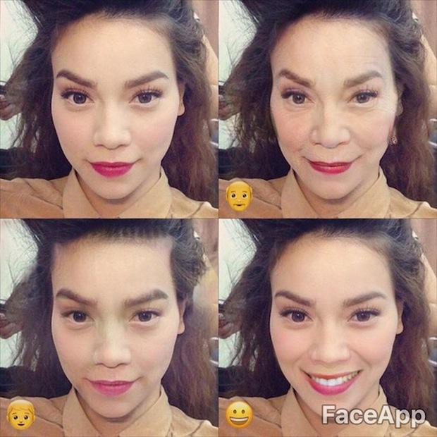 Dùng FaceApp kiểm tra xem sao Việt nào đẹp lão nhất - Ảnh 17.