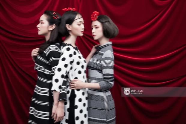 3 nàng hot girl Salim, Sun HT, Lê Vi xinh lạ trong những mẫu áo dài cách tân độc đáo - Ảnh 6.