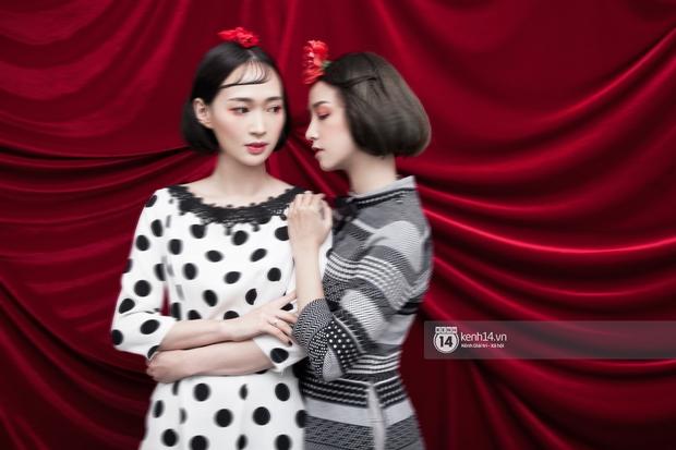 3 nàng hot girl Salim, Sun HT, Lê Vi xinh lạ trong những mẫu áo dài cách tân độc đáo - Ảnh 8.