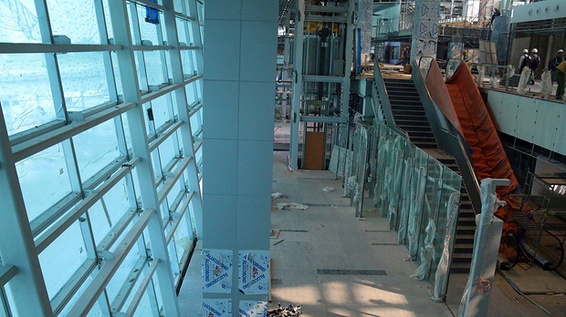 Cận cảnh nhà ga hành khách quốc tế hơn 3.500 tỷ đồng sắp hoàn thành ở Đà Nẵng - Ảnh 10.