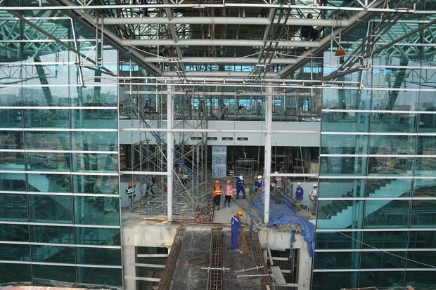 Cận cảnh nhà ga hành khách quốc tế hơn 3.500 tỷ đồng sắp hoàn thành ở Đà Nẵng - Ảnh 20.