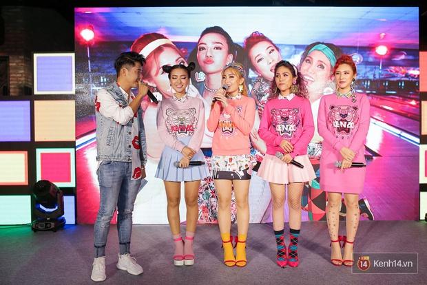 Kẹt show diễn, Đông Nhi tranh thủ đến chúc mừng gà cưng Lip B ra mắt MV mới - Ảnh 7.