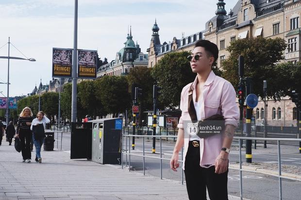Chi Pu & Hoàng Ku đã đặt chân đến Thụy Điển, khoe street style siêu xinh trước khi thăm thú H&M - Ảnh 10.