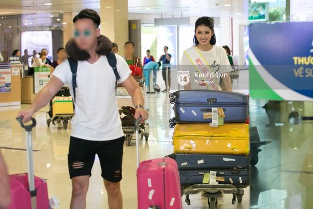 Huyền My đọ sắc cùng Miss Cambodia ở Hoa hậu Hòa bình Thế giới 2017, ai đẹp hơn ai? - Ảnh 3.