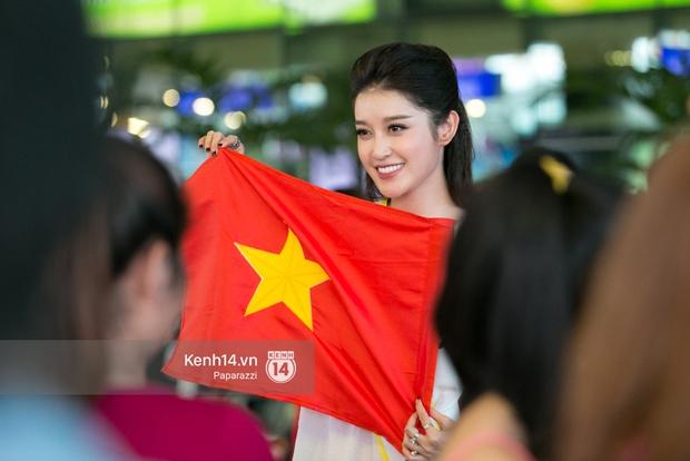 Huyền My đọ sắc cùng Miss Cambodia ở Hoa hậu Hòa bình Thế giới 2017, ai đẹp hơn ai? - Ảnh 11.