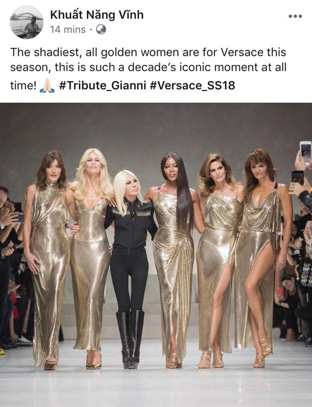 Hội chị em bạn dì siêu mẫu huyền thoại từ thời bố mẹ mình đã quy tụ đầy đủ trên sàn diễn Versace - Ảnh 5.