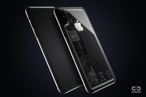 Ngắm nhìn ý tưởng iPhone 8 trong suốt đẹp không chỗ nào chê - Ảnh 2.