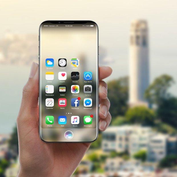 Cận cảnh chiếc iPhone X với màn hình cong tràn cạnh đẹp mướt mải - Ảnh 1.