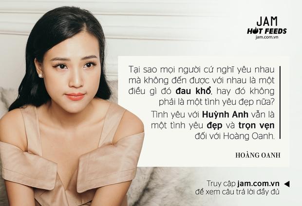 Hoàng Oanh: Tình yêu với Huỳnh Anh vẫn là một tình yêu đẹp và trọn vẹn - Ảnh 4.