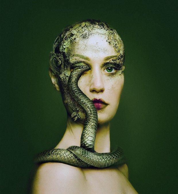 Con người và động vật xuất hiện cùng nhau trong bộ ảnh ghép mắt tuyệt đẹp - Ảnh 19.