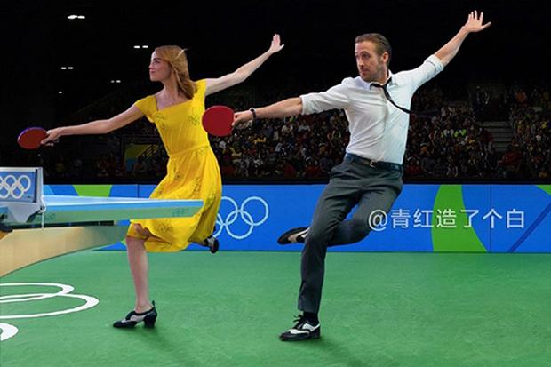 Cười vỡ bụng với điệu nhảy đôi lãng mạn trong La La Land dưới bàn tay các thánh Photoshop - Ảnh 12.