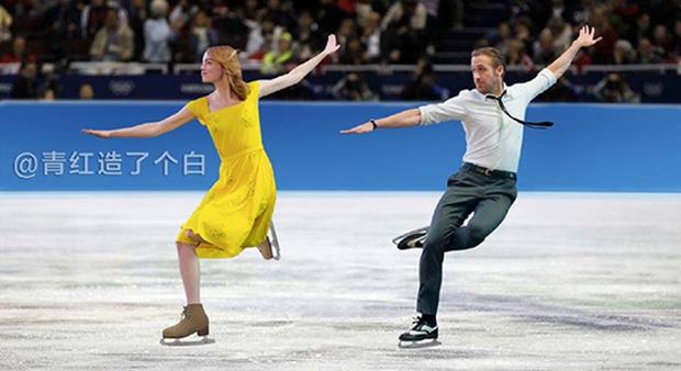 Cười vỡ bụng với điệu nhảy đôi lãng mạn trong La La Land dưới bàn tay các thánh Photoshop - Ảnh 14.