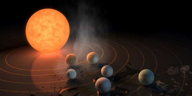 Hệ sao-hành tinh Trappist-1