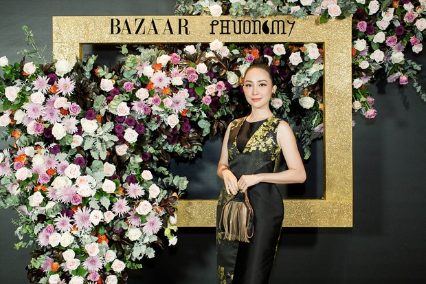 Hoàng Ku môi hồng chẳng kém các nàng Hậu, Kim Lý lịch lãm điển trai tại show diễn NTK Phương My - Ảnh 9.