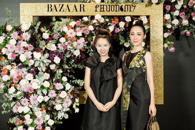 Hoàng Ku môi hồng chẳng kém các nàng Hậu, Kim Lý lịch lãm điển trai tại show diễn NTK Phương My - Ảnh 10.