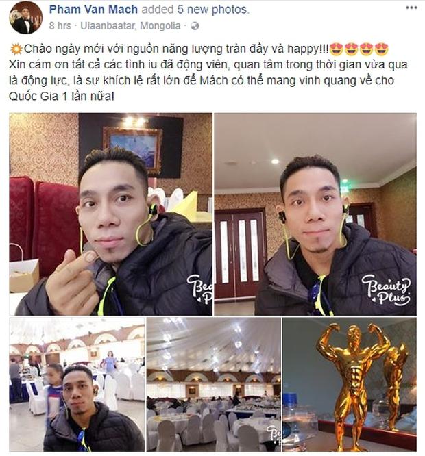 Nghỉ thi đấu 2 năm, lực sĩ Phạm Văn Mách vẫn lần thứ 5 vô địch thế giới - Ảnh 1.