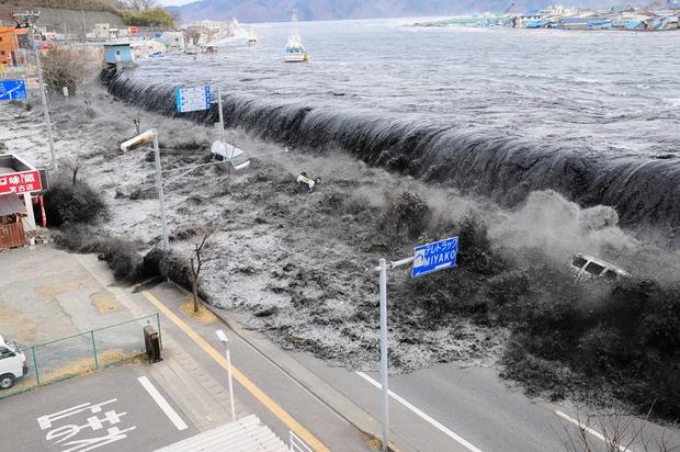 Thảm họa sóng thần tại Nhật Bản đã gây ra một hiện tượng chưa từng xuất hiện trong lịch sử - Ảnh 1.