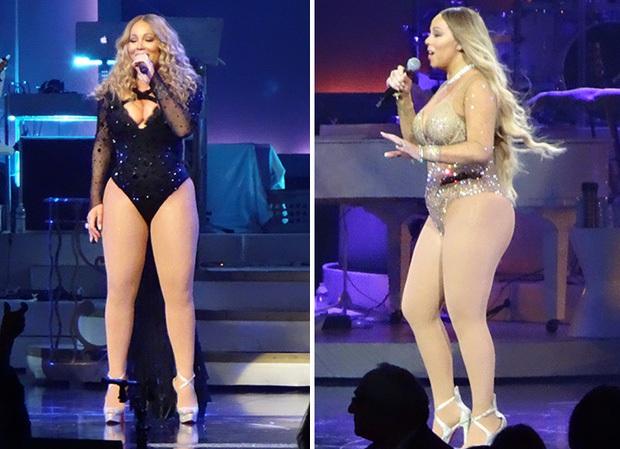 Bụng to đùi mỡ, Mariah Carey vẫn mặc bộ váy vừa hở vừa bó sát để đi hẹn hò trai trẻ - Ảnh 10.